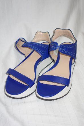 Armani Blue Sandals at Michelo