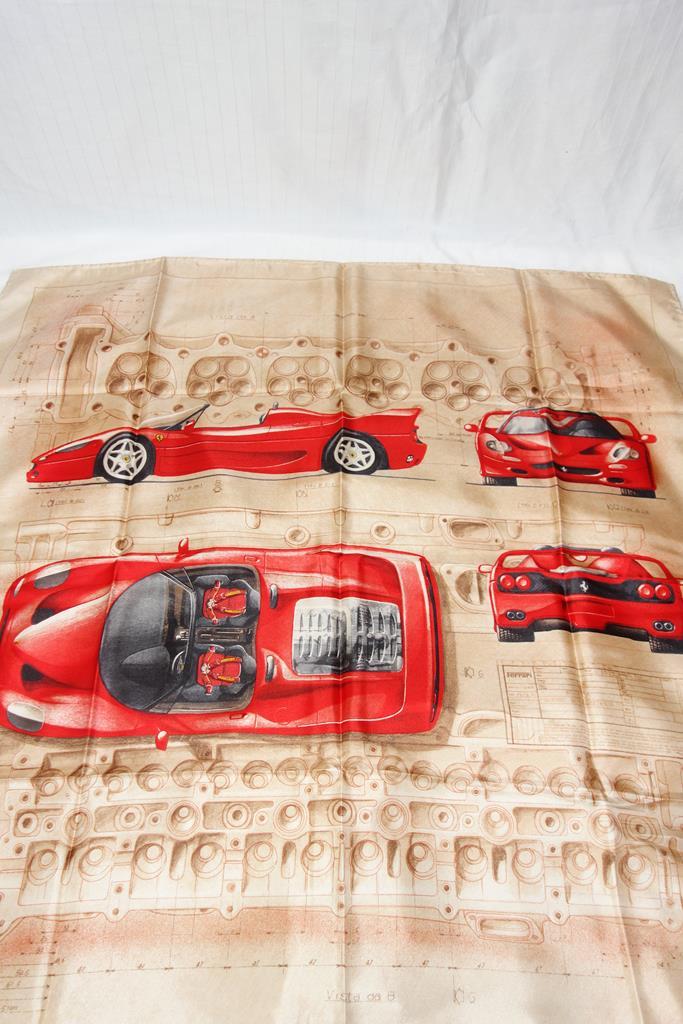 Ferrari scarf at Michelo Haak Lifestyle DSC01542