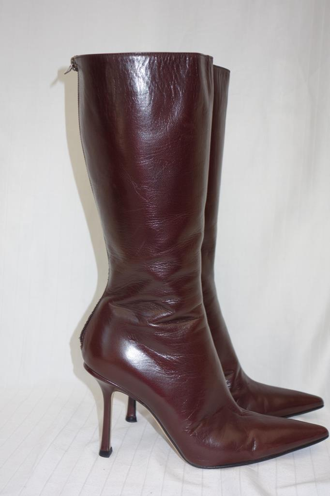 Jimmy Choo boots at Michelo Haak