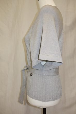 Karen Millen Grey top at Michelo Haak Lifestyle