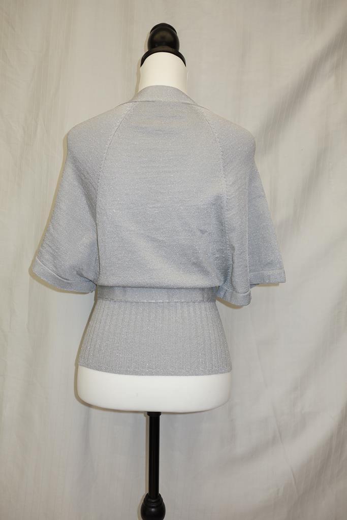 Karen Millen Grey top at Michelo Haak Lifestyle