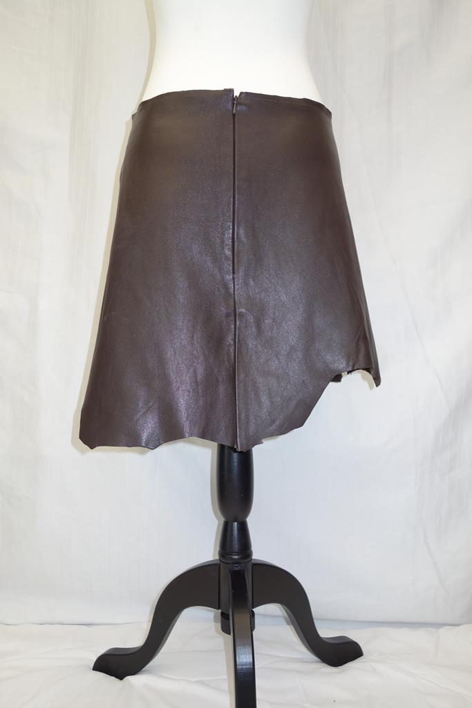Luis Antonio leather skirt at Michelo Haak