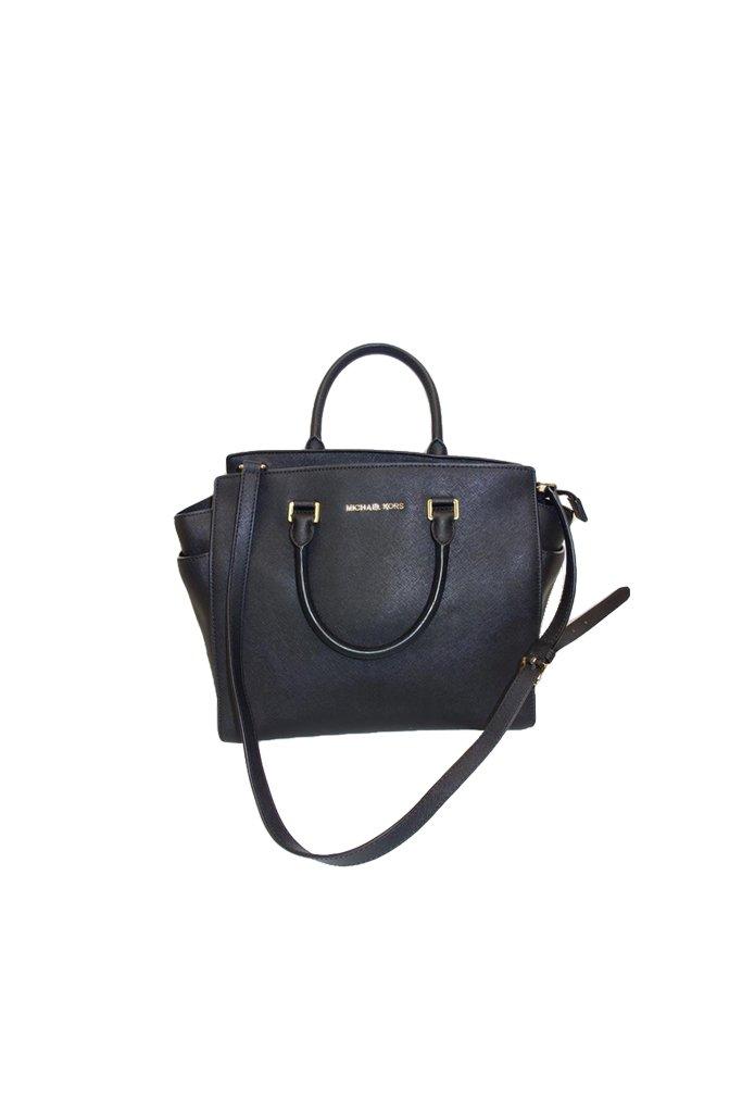 Michael Kors Selma Leather Tote Handbag