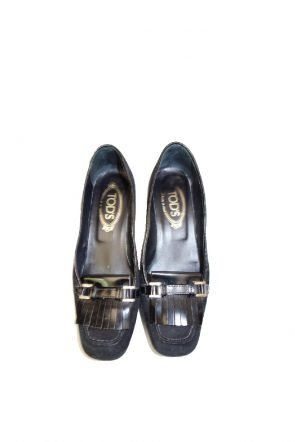 Tods Black Patent and suede shoes at Michelo Haak Lifestyle at Michelo Haak Lifestyle DSC00638 1