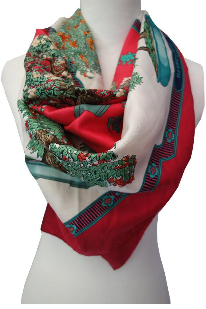 Hermes scarf designed by Catherine Baschet at Michelo Haak Lifestyle DSC01466
