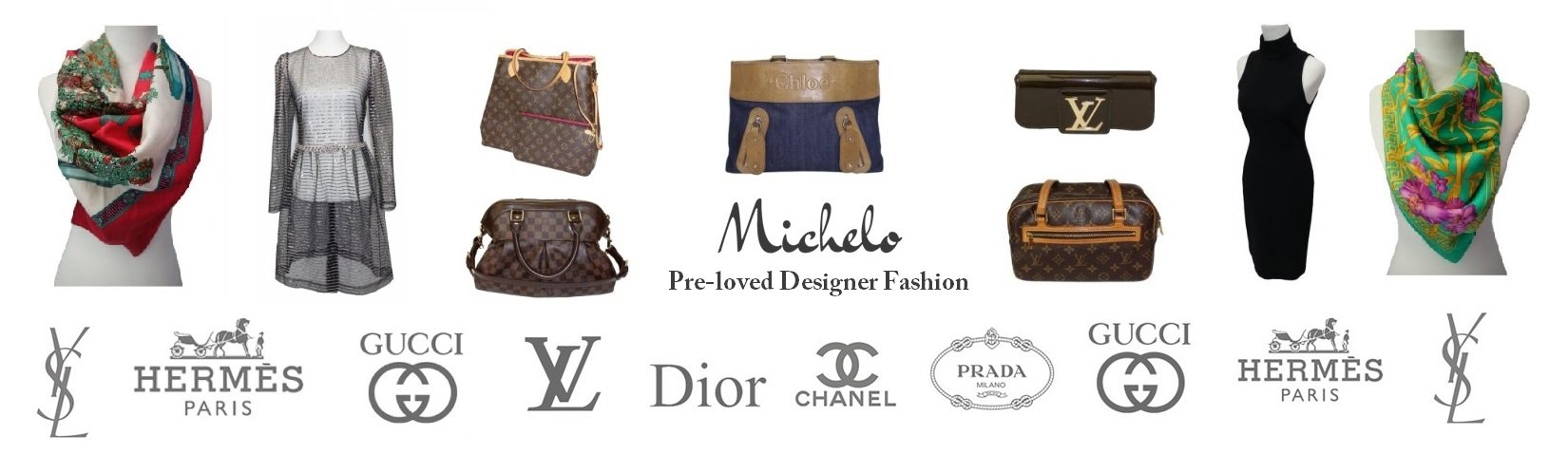Michelo Pre-loved Second Hand Designer Clothes