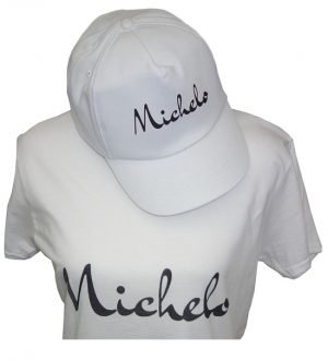 Michelo ladies tshirt and cap v1