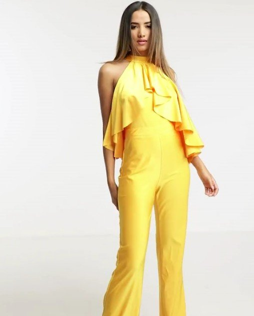 Michelo Special Jumpsuit Yellow Image