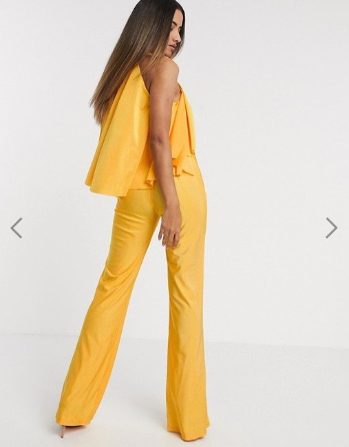 Michelo Special Jumpsuit Yellow Image 1 2