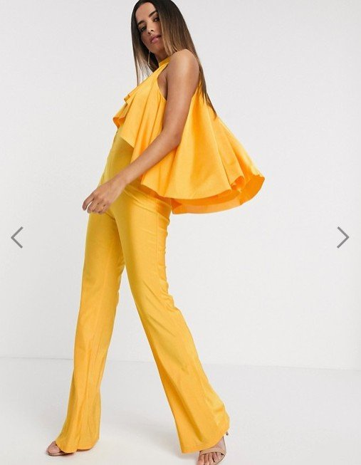 Michelo Special Jumpsuit Yellow Image 1 4
