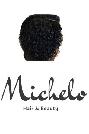 Michelo custom made hair waterwave with closure v1