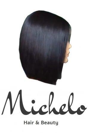 Michelo custom made hair waterwave with closure vft1